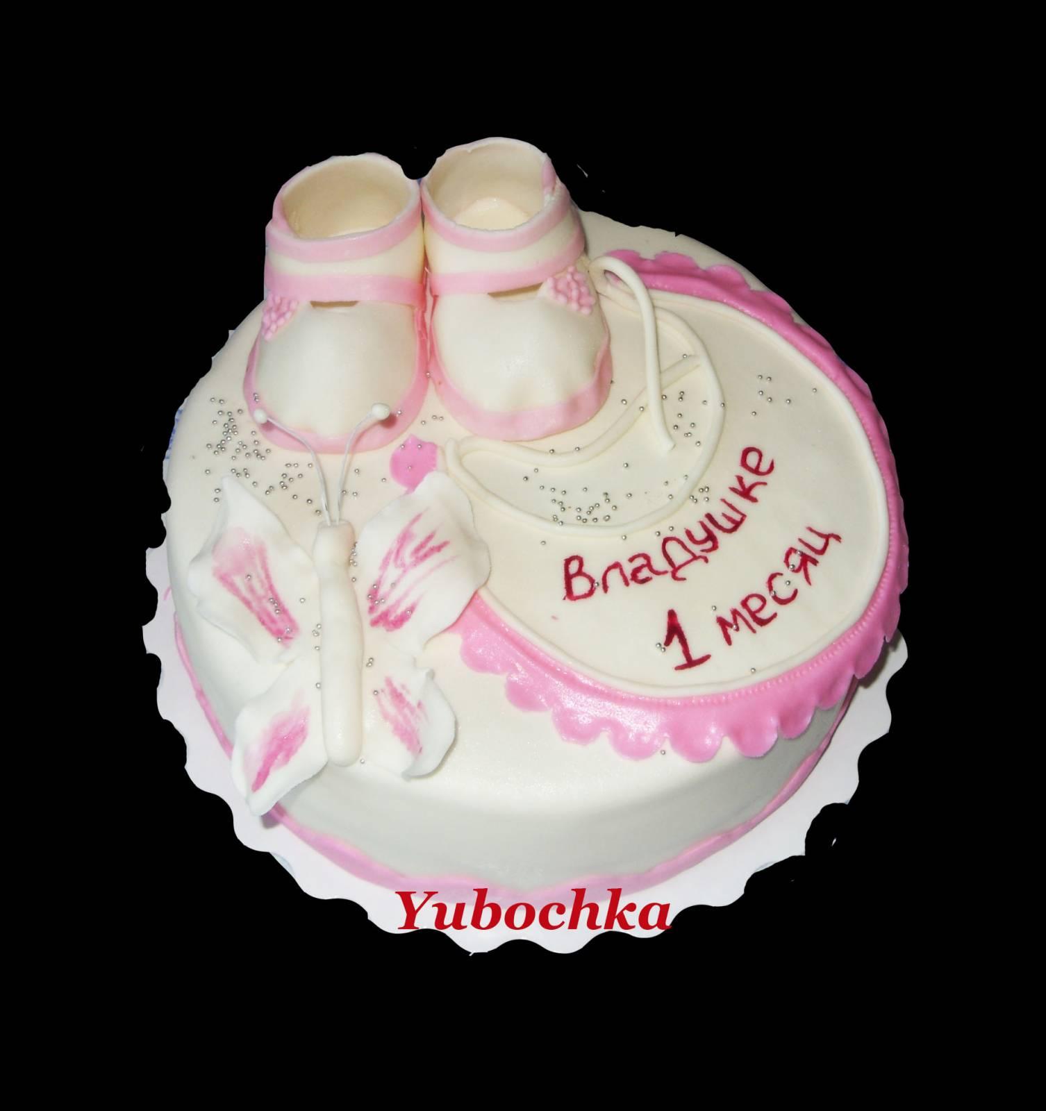 Фото тортов на 6 месяцев ребенку